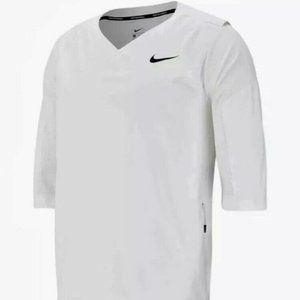 Men's Nike Baseball Pullover 3/4 Sleeve Hot Jacket
